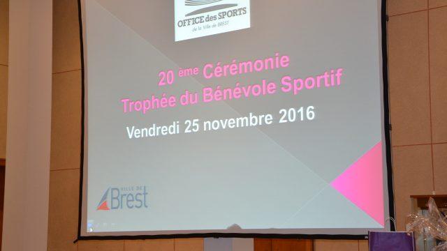 Trophée du bénévole sportif 2016